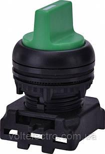 Вимикач двопозиційний з підсвічуванням EGS2-N-G, зелений