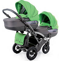 Детская коляска универсальная для двойни 2 в 1 City Move Duo 07 Tako