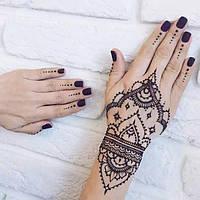 Мехенди (рисунки хной по телу)