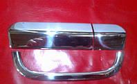 Хром накладка на ручку задней двери Mercedes-benz vito (w639) (мерседес-бенц вито-виано) 2004г+
