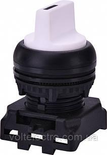 Выключатель двухпозиционный с подсветкой EGS2-N-W, белый