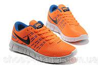 Женские кроссовки  Nike Free 6.0 оранжевые