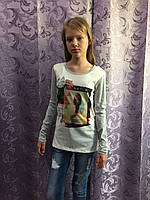 Подростковый реглан для девочки 134,158,164 см