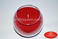 Стеарин красный в гранулах для насыпных свечей и литых 1 кг, фото 1