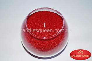 Стеарин красный в гранулах для насыпных свечей и литых 1 кг