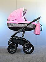 Детская коляска универсальная 2 в 1 Ammi Ajax Group Viola Rose