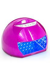 LED Лампа круглая с таймером выдвижное дно 12W мл Код 10783