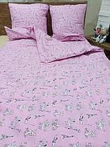"""Постель детская """"Розовый Пудель"""", Полуторный комплект, фото 2"""