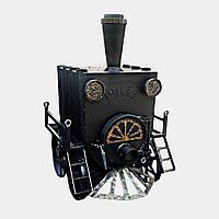"""Отопительная печь Булерьян (buller) """"Паровоз"""" 640 м.куб."""