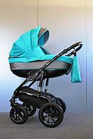 Детская коляска универсальная 2 в 1 Ammi Ajax Group Viola Lagoon