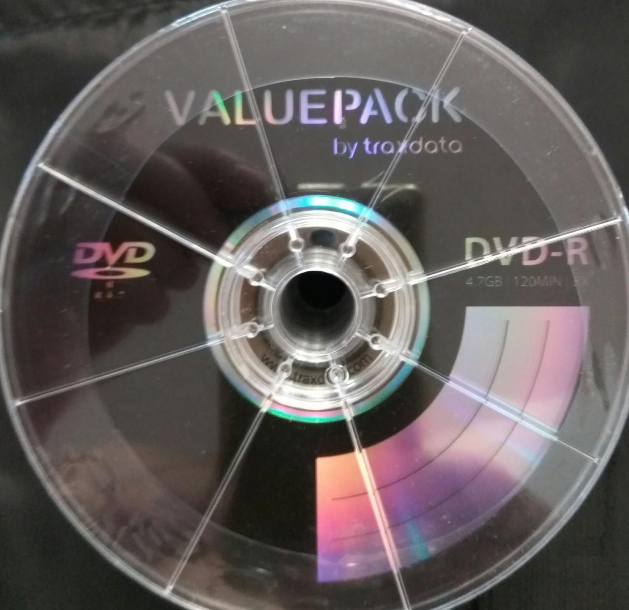 DVD-R Traxdata 8x (50 шт)