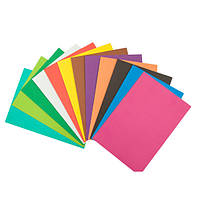 Цветной двусторонний картон, №29 темный розовый, 50х70см, 300г/ кв.м, фото 1