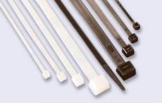 Хомут пластиковий 2,5×200 мм білий 100 шт CORT