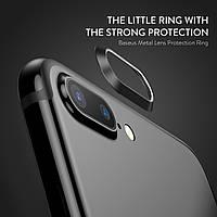 Защитное кольцо для камеры Baseus Metal Lens Protection Ring iPhone 7 Plus (black)