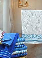 Махровое полотенце Terry Lux Верба белое 50х90 см