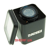 Часы Skmei DG1127 Black - Blue BOX DG1127BOXBKBL