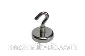 Магнит неодимовый держатель с крючком Z10 3 кг