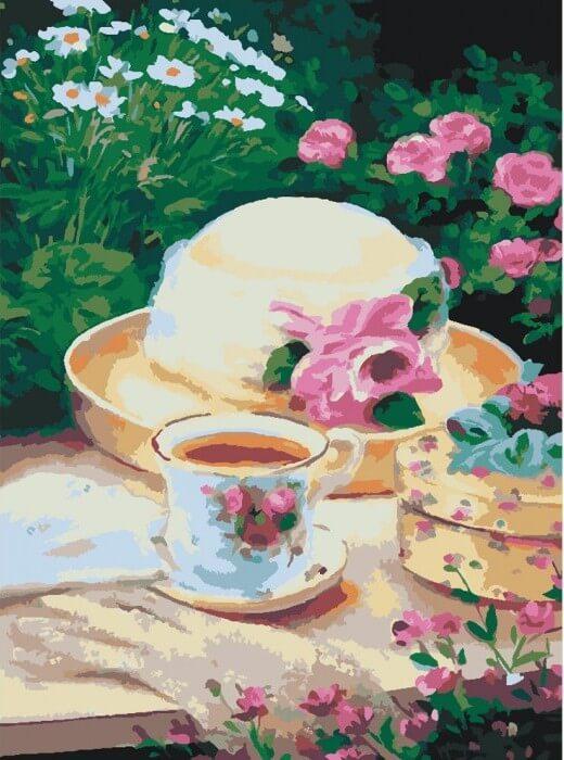 Картина по номерам Пикник в саду КНО2206