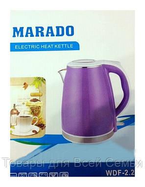 Электрический чайник Marado WDF-2,2,Электрический чайник , фото 2