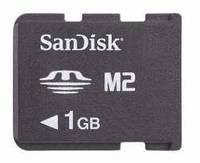 Карта памяти M2 SanDisc 1GB