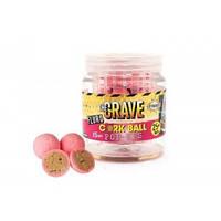 Плавающие бойлы 15мм Corkball Fluro - Pink Crave Pop Ups