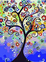 Картина по номерам Дерево мечты КНО2824