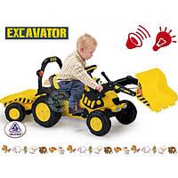 Трактор педальный Excavator Light injusa 410
