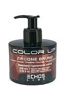 Echos Line - Маска Тонирующая для волос - ШОКОЛАД - Color Up
