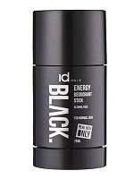 Сухой мужской дезодорант IdHair Black Energy Deo Stick