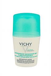Vichy Дезодорант ролик Не содержащий спирт Anti Perspirant Treatment 48h для женщин 50 мл Код 14973
