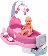 024223 Электронный Центр для ухода за куклой Smoby Baby Nurse с пупсом
