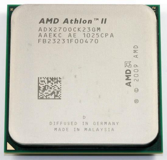 Процессор AMD Athlon II X2  270 3.4GHz 65W + термопаста GD900