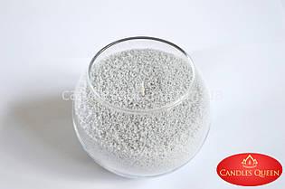 Стеарин цвет серый светлый 500г  Для насыпных свечей и литых