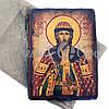 Деревянная икона святой Игорь, 17х23 см (814-2076), фото 2