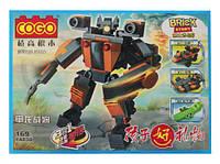 Конструктор робот Трансформер r81 коричневый
