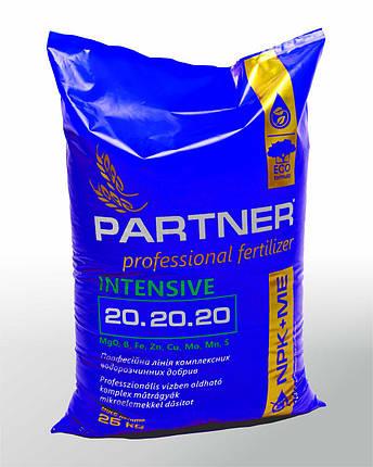 Комплексное удобрение Партнер / Partner интенсив (20.20.20+2,5MgO+ME), 25 кг., фото 2