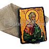 Деревянная икона святой Андрей, 17х23 см (814-2066), фото 2