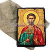 Деревянная икона святой Богдан, 17х23 см (814-2067), фото 2