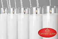 Стеарин гранулированный белый 1 кг. Для насыпных свечей и литых + фитиль, фото 1