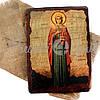 Деревянная икона святая Ева, 17х23 см (814-2072), фото 2