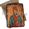 Деревянная икона святая Екатерина, 17х23 см (814-2055), фото 2
