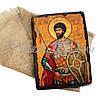 Деревянная икона святой Виктор, 17х23 см (814-2062), фото 2