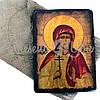 Деревянная икона святая Алла, 17х23 см (814-2071), фото 2