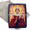 Деревянная икона святая Галина, 17х23 см (814-2084), фото 2