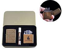 """Набор зажигалок и мундштук """"Dior"""", электроимпульсная и бензиновая, в комплекте с мундштуком, в коробке"""