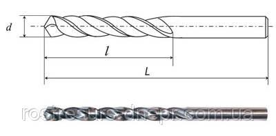 Свердло ц/х ф 1.3 мм Р18