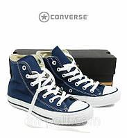 Converse High Женские кеды синие
