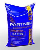 Комплексное удобрение Партнер / Partner стандарт (NPK 9.12.35 + ME), 25 кг.