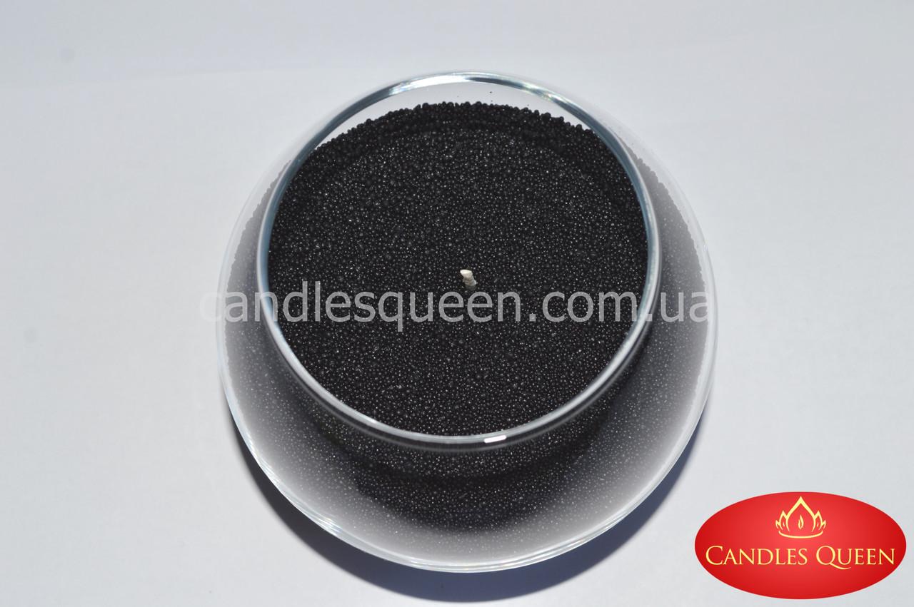 Черный стеарин для создания насыпных свечей и литых свечей 1 кг