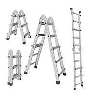Телескопическая универсальная лестница Кентавр 4х5 + бесплатная доставка